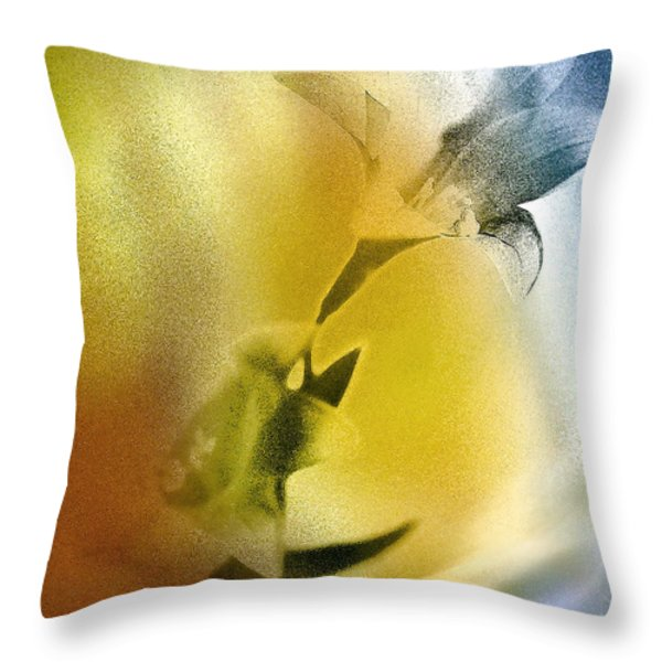 Lilly Throw Pillow by Mauro Celotti