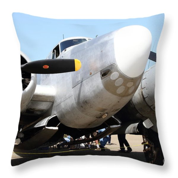 Lockheed PV-2 Harpoon Military Aircraft . 7d15821 Throw Pillow by Wingsdomain Art and Photography