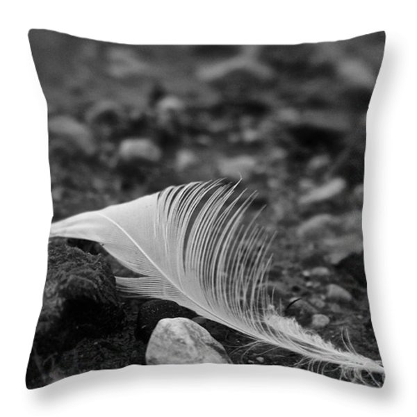 Loner Throw Pillow by Susan Herber