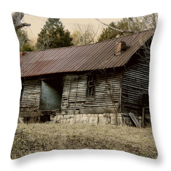 Long Ago Throw Pillow by EricaMaxine  Price