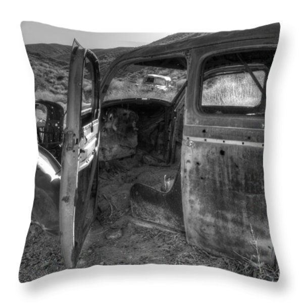 Long Forgotten Throw Pillow by Bob Christopher