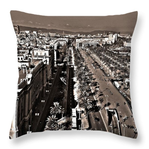 Looking East ... Throw Pillow by Juergen Weiss