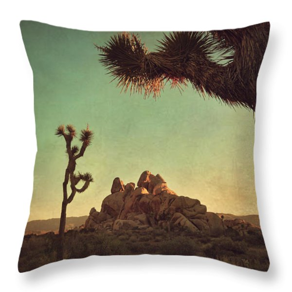 Looming Throw Pillow by Laurie Search