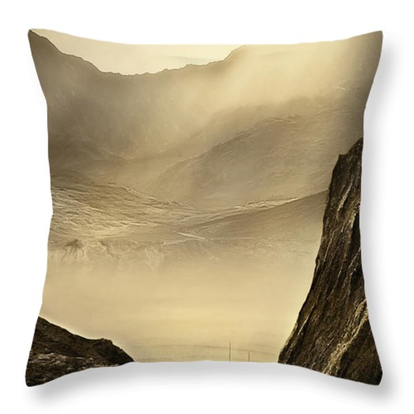 Lost Boat Throw Pillow by Svetlana Sewell