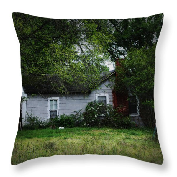 Lost In Time Throw Pillow by Kelly Rader