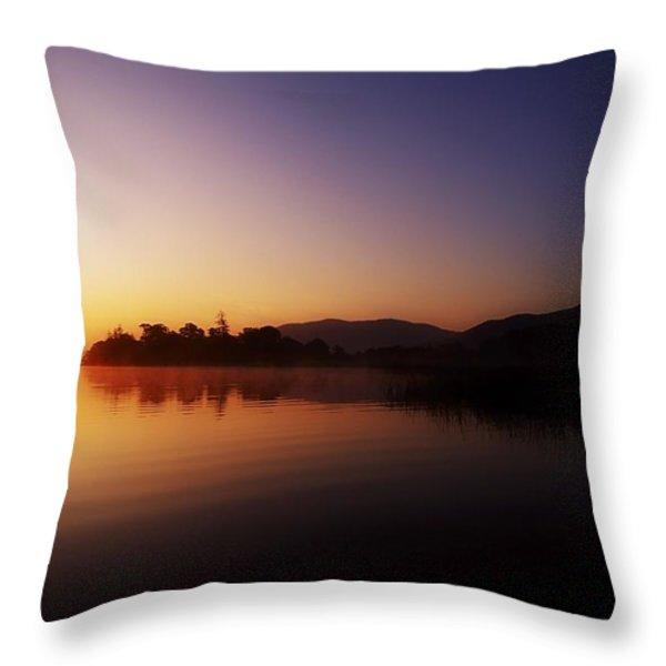 Lough Gill, Co Sligo, Ireland Irish Throw Pillow by The Irish Image Collection