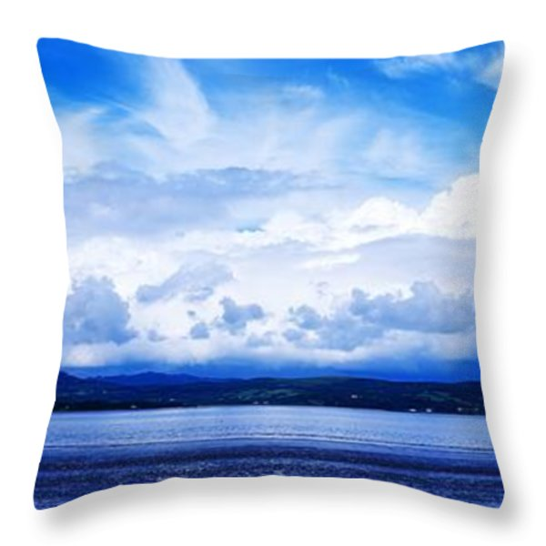 Lough Swilly, County Donegal, Ireland Throw Pillow by The Irish Image Collection