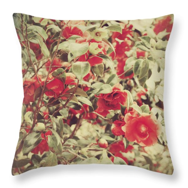 Love Is All Around Throw Pillow by Laurie Search