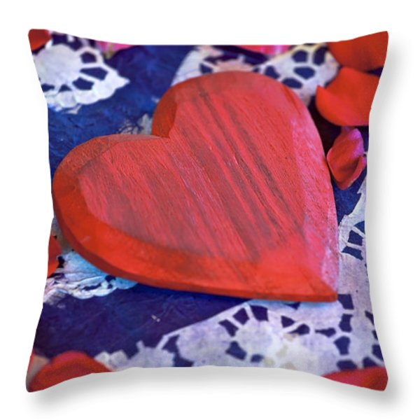 Love Throw Pillow by Joana Kruse
