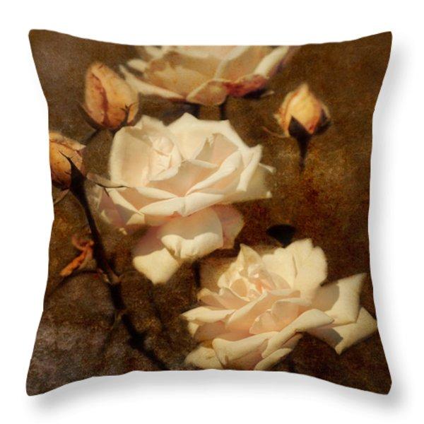 Love Letter II Throw Pillow by Jai Johnson