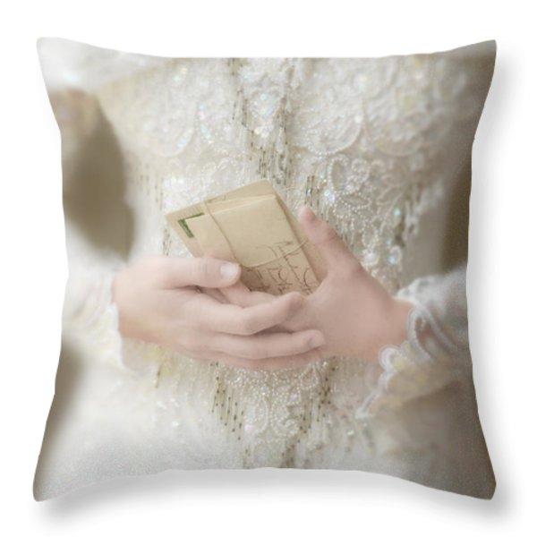 Love Letters Throw Pillow by Jill Battaglia