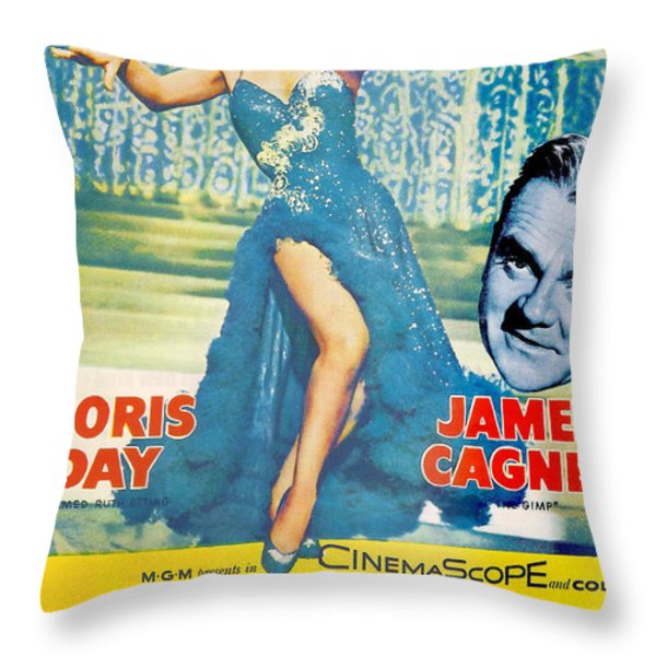 Love Me or Leave Me Throw Pillow by Nomad Art And  Design