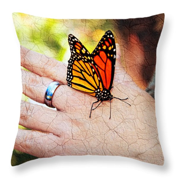 Love Waits Throw Pillow by Andee Design