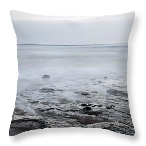 Low Tide Throw Pillow by Svetlana Sewell