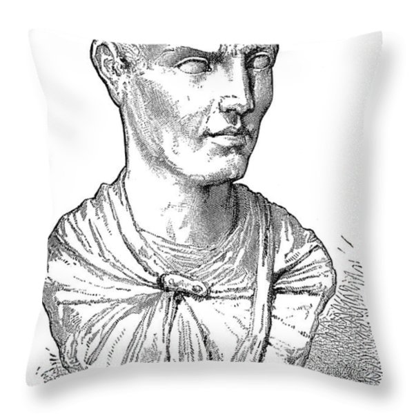 Lucius Licinius Lucullus Throw Pillow by Granger