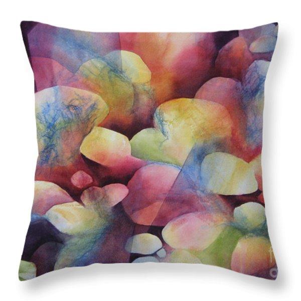 Luminosity Throw Pillow by Deborah Ronglien