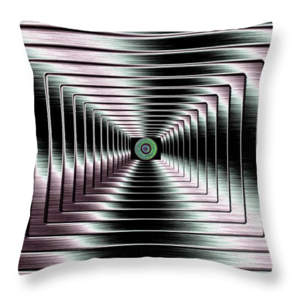 Luminous Energy 4 Throw Pillow by Will Borden
