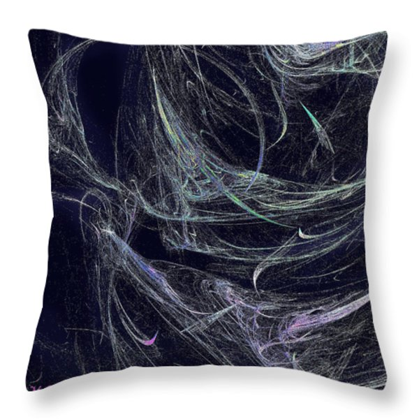 Lyrical Throw Pillow by Michael Durst