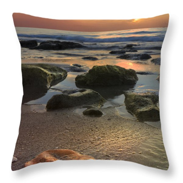 Magic Every Moment Throw Pillow by Debra and Dave Vanderlaan