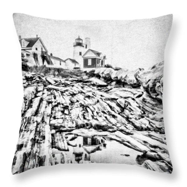 Maine Throw Pillow by Darren Fisher