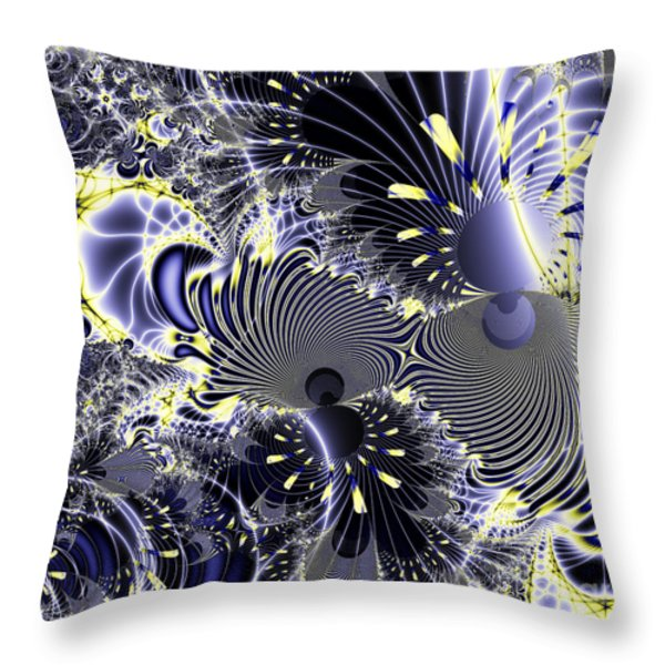 Mardi Gras . Square Throw Pillow by Wingsdomain Art and Photography