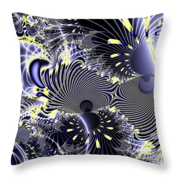 Mardi Gras Throw Pillow by Wingsdomain Art and Photography