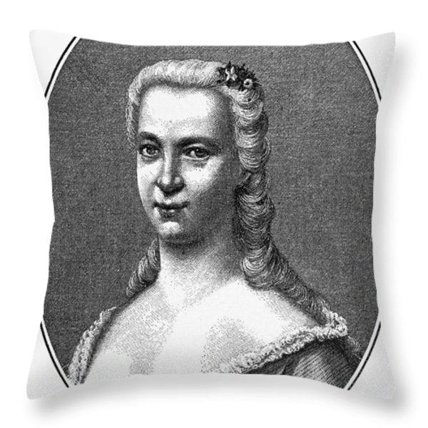 Margareta Moller Klopstock Throw Pillow by Granger