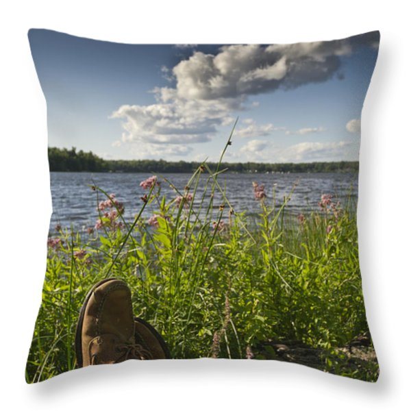 Margarita time  Throw Pillow by Gary Eason