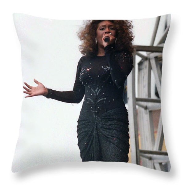 Mary Wilson Throw Pillow by Mike Martin