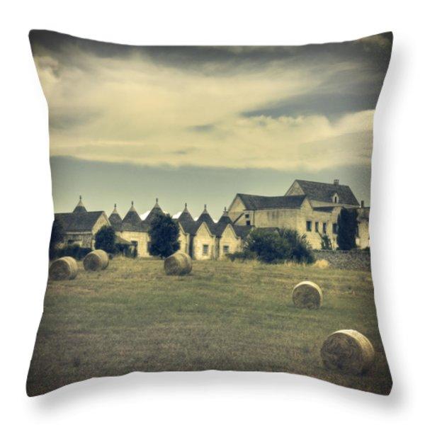 Masseria Throw Pillow by Joana Kruse