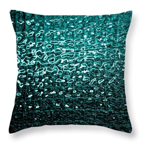 Matrix Throw Pillow by Leigh Meredith