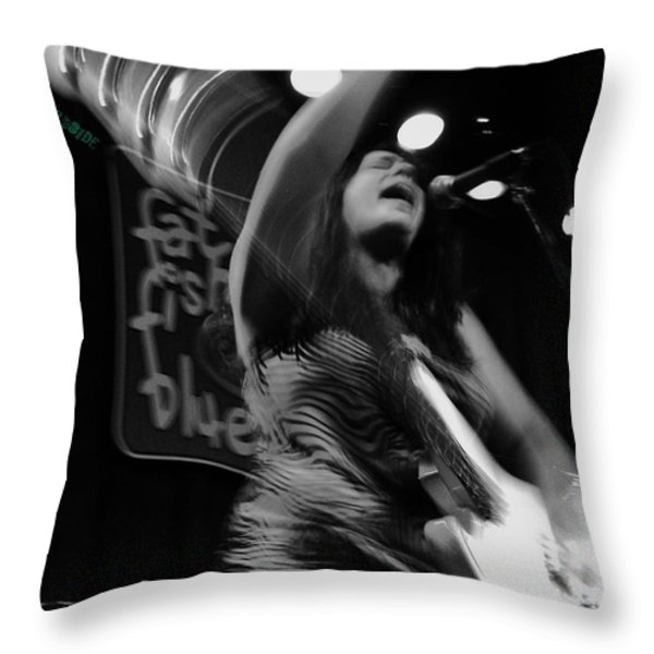 May I Throw Pillow by Chris Berry