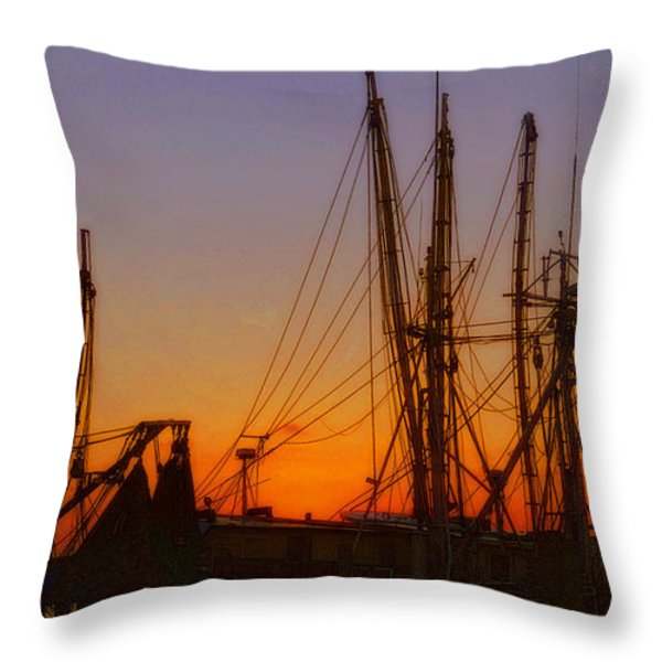 Mayport Throw Pillow by Lydia Holly