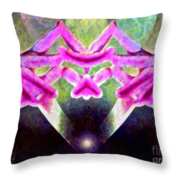 Melancholy Limbo Throw Pillow by Gwyn Newcombe
