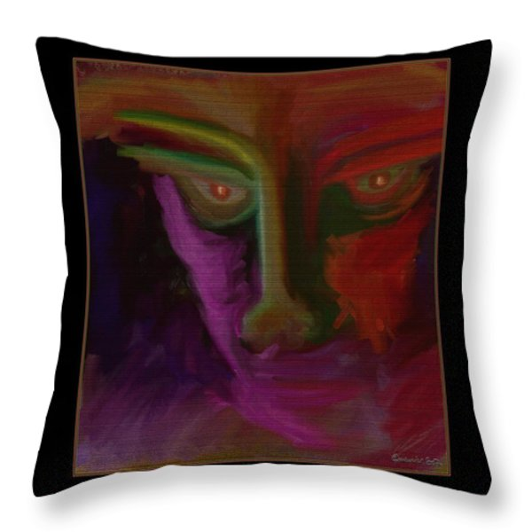 Mesmerized Throw Pillow by Mimulux patricia no
