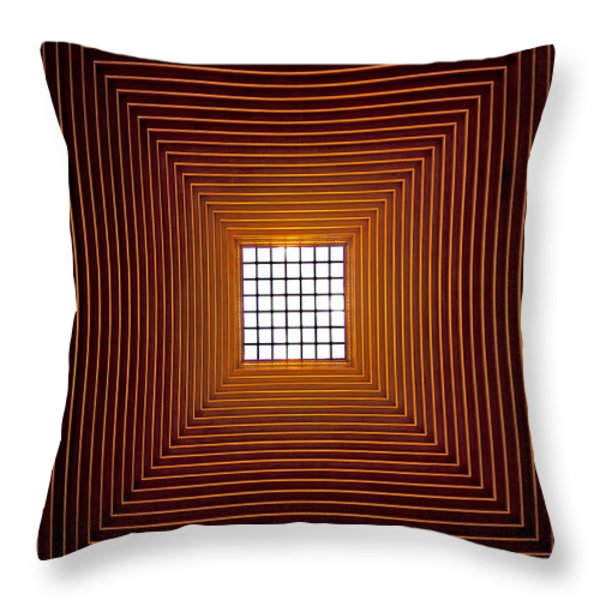 Mesmerizing Light Throw Pillow by Roger Green
