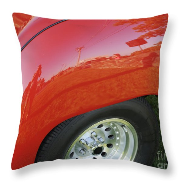 Microcosm Throw Pillow by Luke Moore