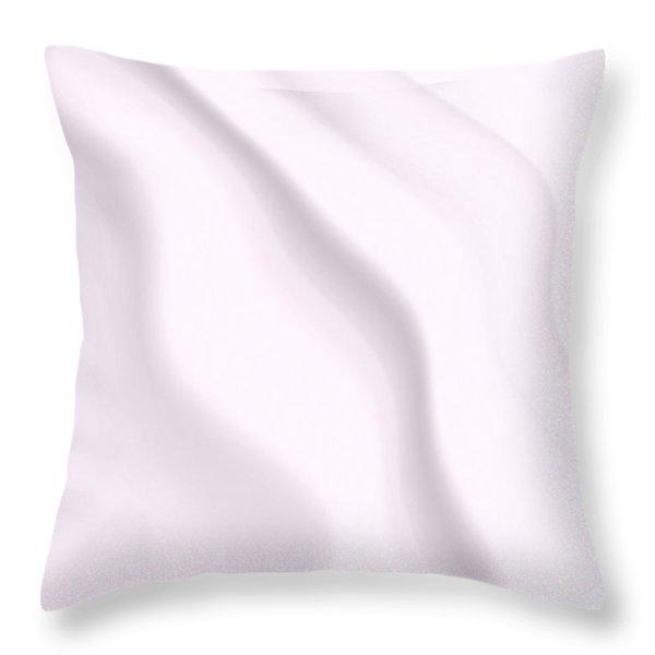 Milk Throw Pillow by Pet Serrano