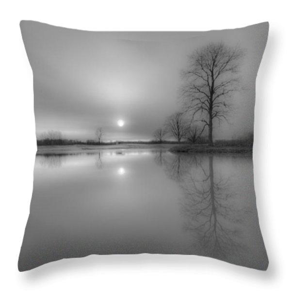 Milktoast Throw Pillow by Everet Regal