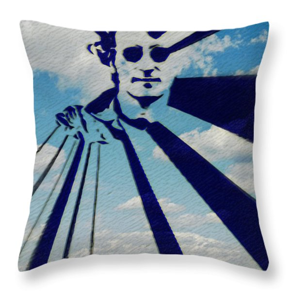 Mind Games Throw Pillow by Bill Cannon