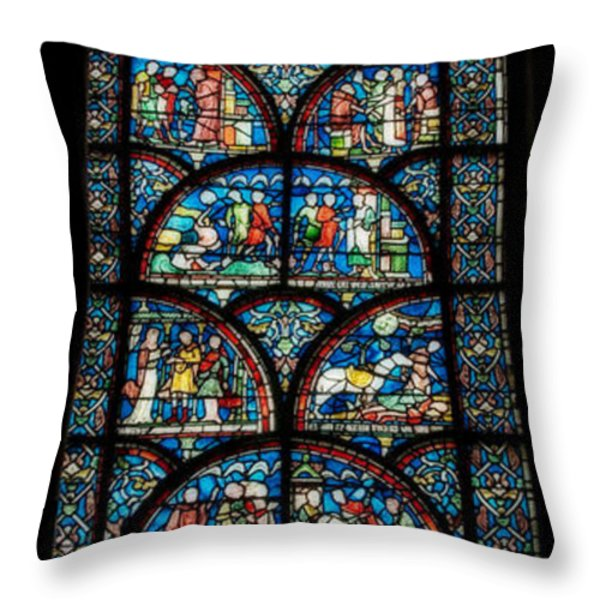 Miracles Of Thomas Becket Throw Pillow by Lisa Knechtel