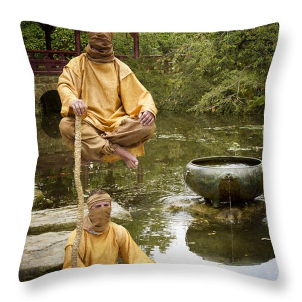 Mirage Throw Pillow by Heiko Koehrer-Wagner