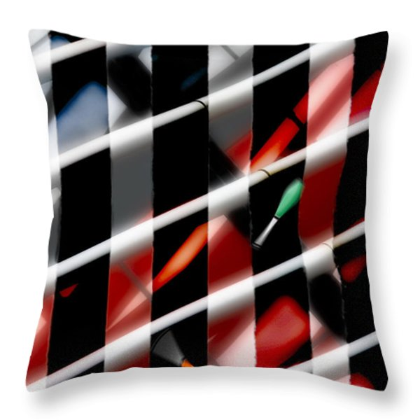 More is More Throw Pillow by Richard Piper