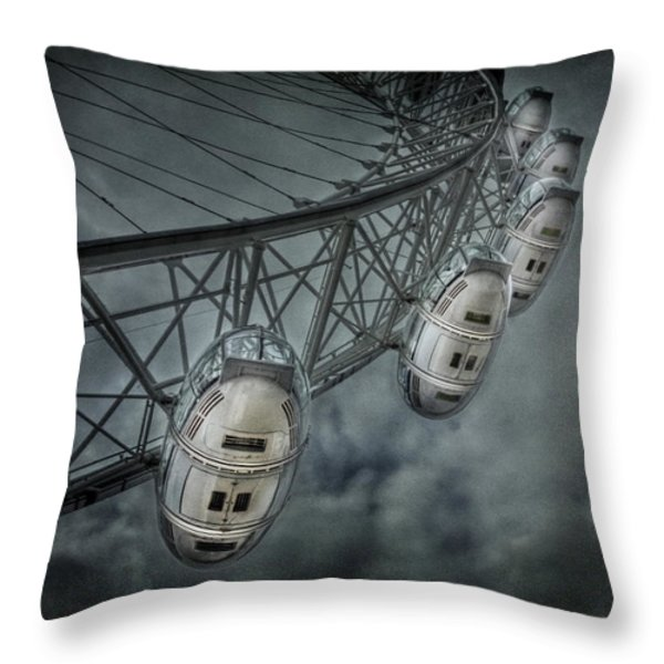 More Then Meets The Eye Throw Pillow by Evelina Kremsdorf