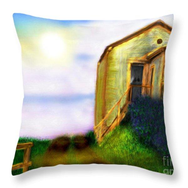 Morning Sunshine Throw Pillow by Lj Lambert