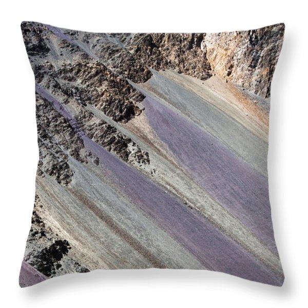 Mountain Abstract 5 Throw Pillow by Hitendra SINKAR