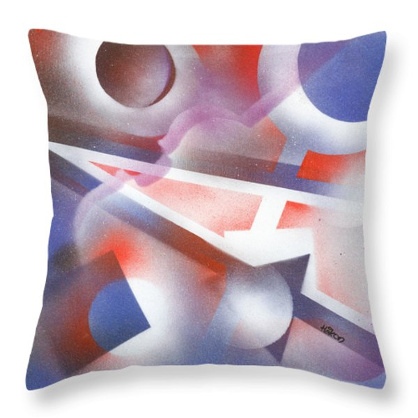 Music of the Spheres Throw Pillow by Hakon Soreide