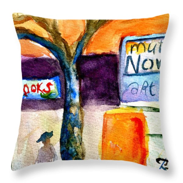 Mutiny Now Throw Pillow by Beverley Harper Tinsley