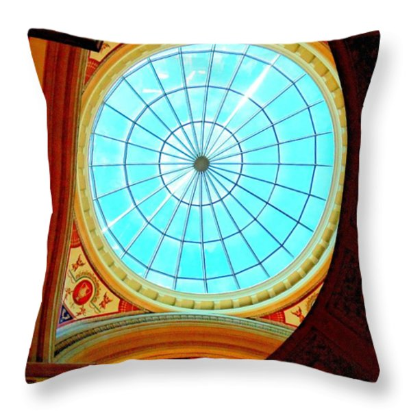 My Vegas Caesars 10 Throw Pillow by Randall Weidner