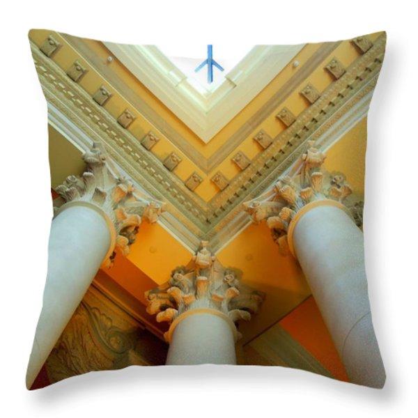 My Vegas Caesars 15 Throw Pillow by Randall Weidner